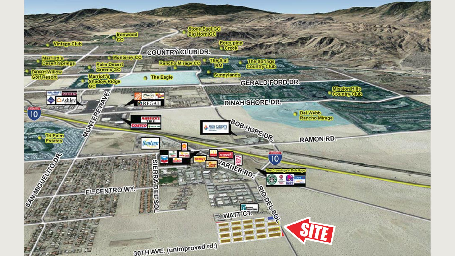 19.31 AC Industrial Land, Thousand Palms, CA