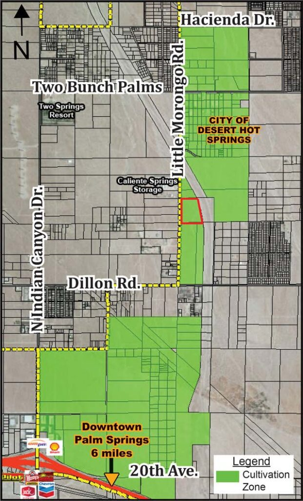 cultivation zone image of phase 3 morongo industrial park