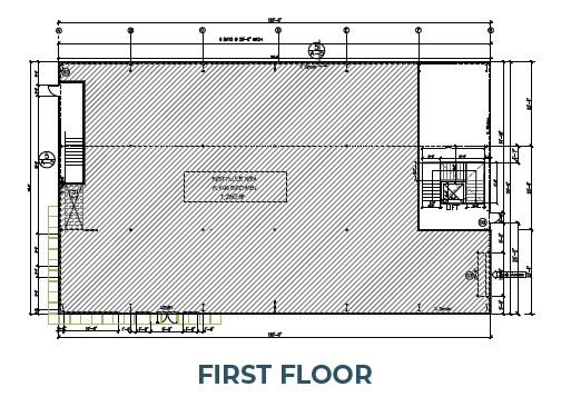 first floor plan of phase 3 morongo industrial park