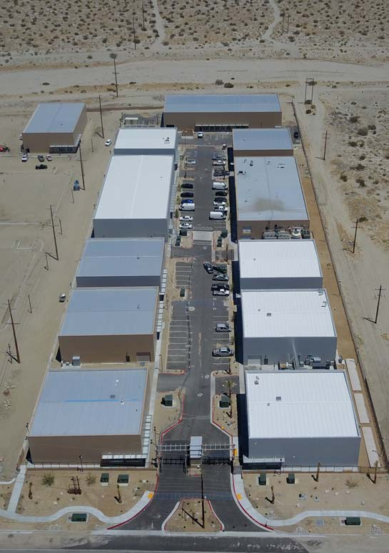 aerial photo of phase 3 morongo industrial park