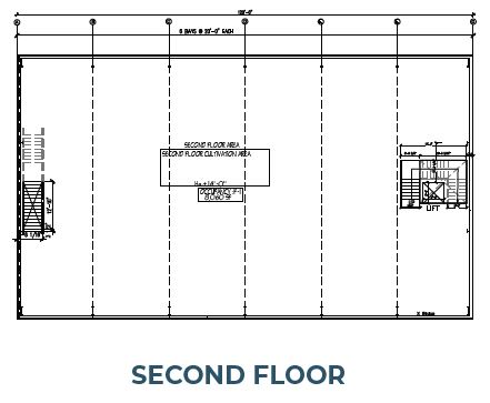 second floor plan of phase 3 morongo industrial park