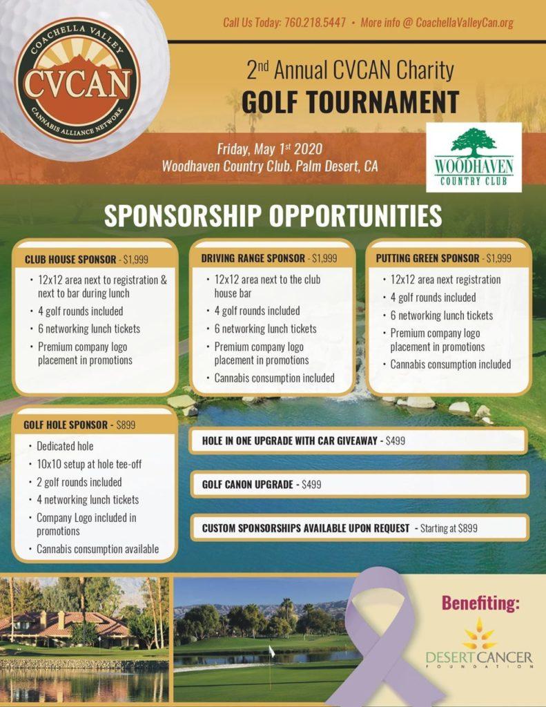 Charity Golf Tournament Sponsorships