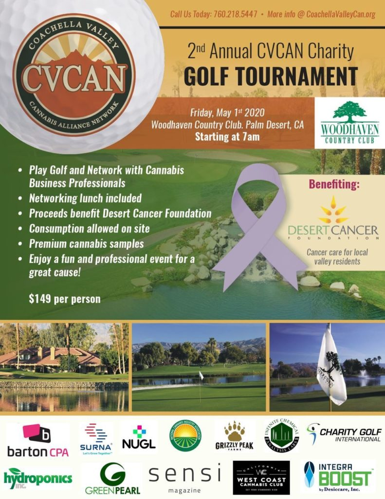 golf flyer with sponsors