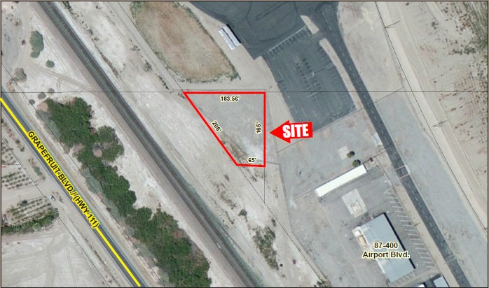 .47 AC Airport Blvd. Fully Fenced Industrial Lot