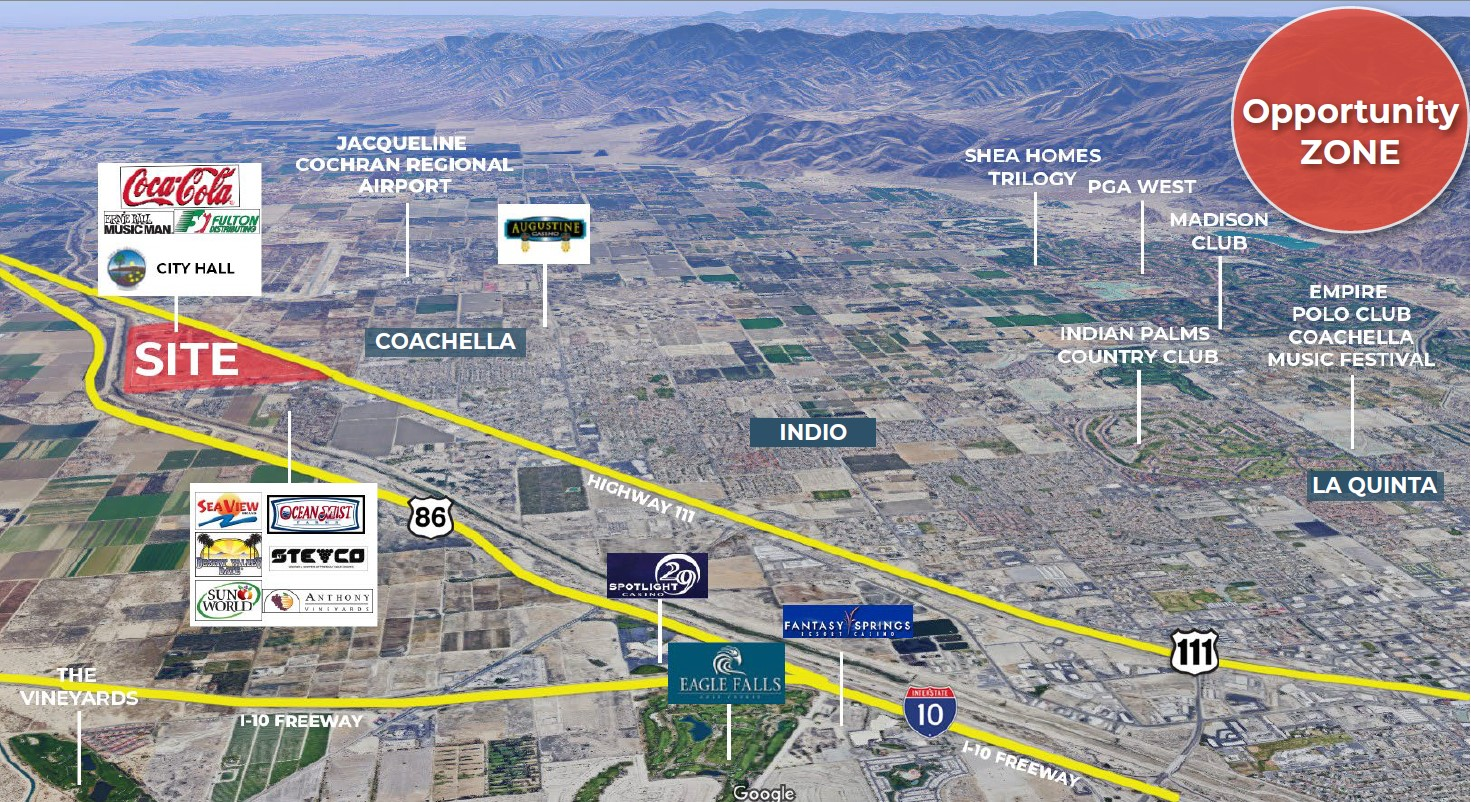 49 AC FULLY ENTITLED INDUSTRIAL LAND
