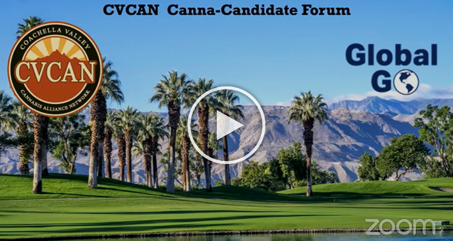 mountain and trees view for cvcan canna candidate forum