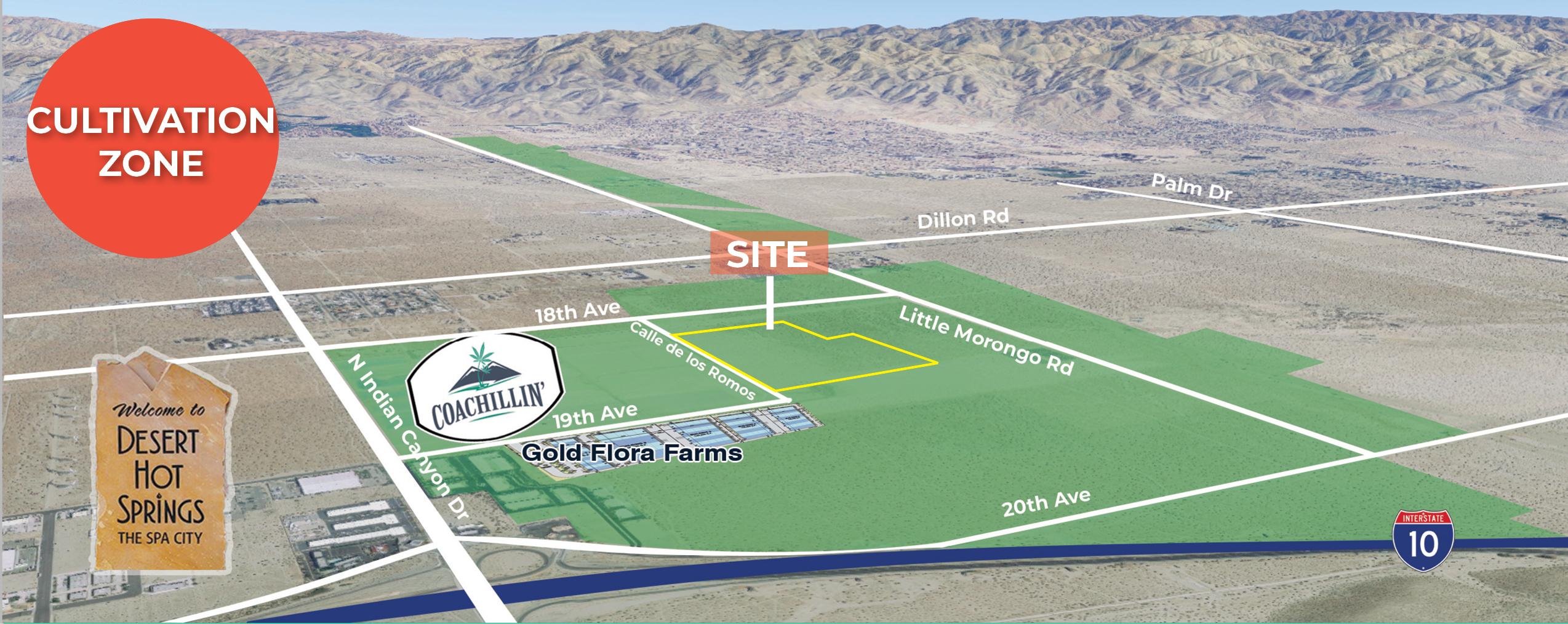 65.14 AC Industrial Land, Desert Hot Springs, CA