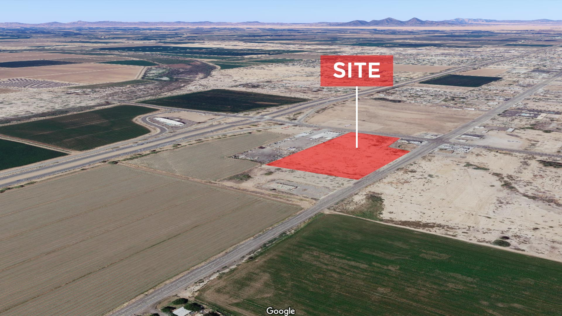 3.95 AC Commercial Land, Blythe, CA