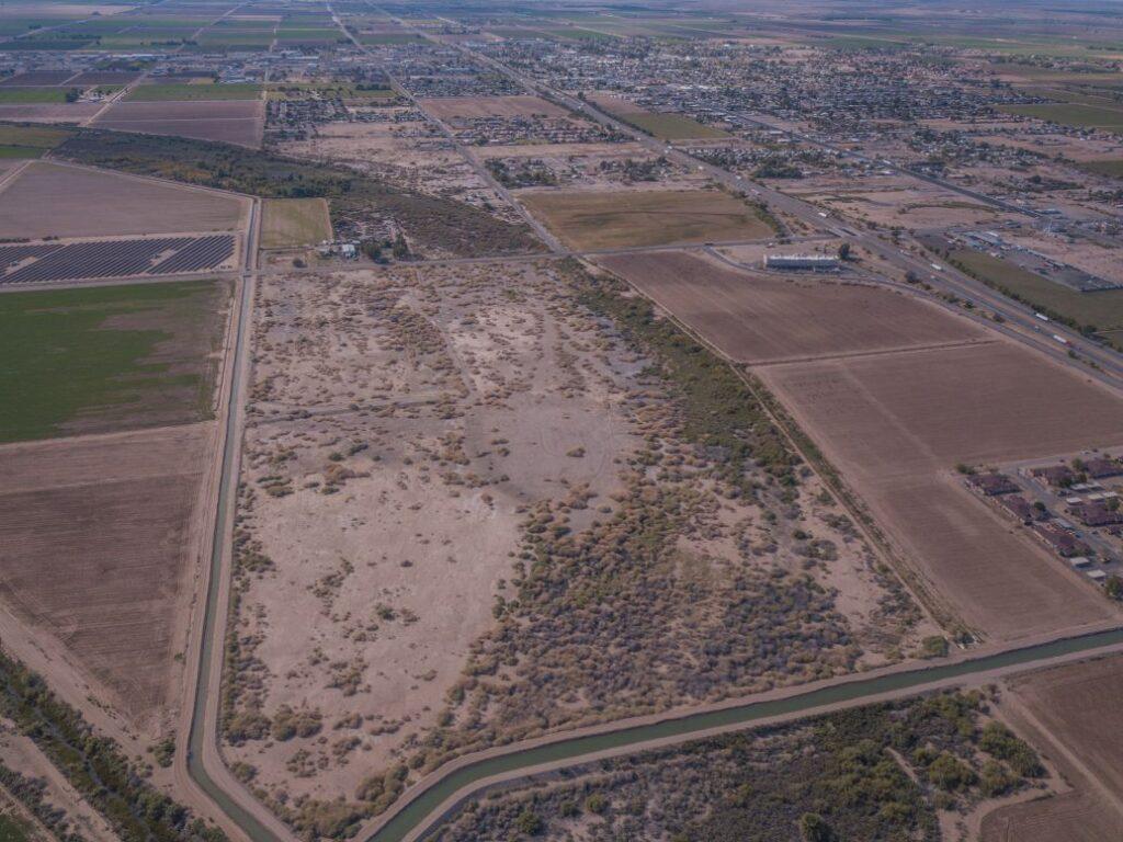 aerial image of of palo verde center business park