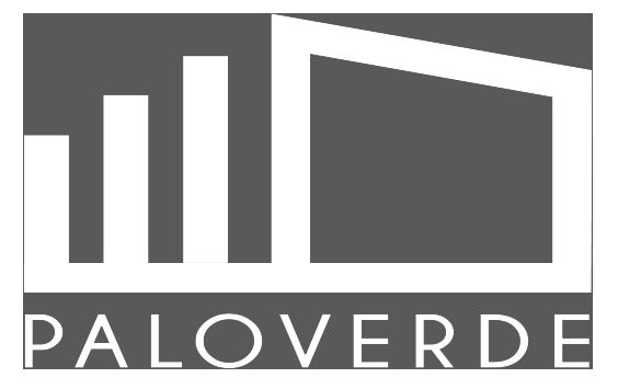 pvc clear white logo