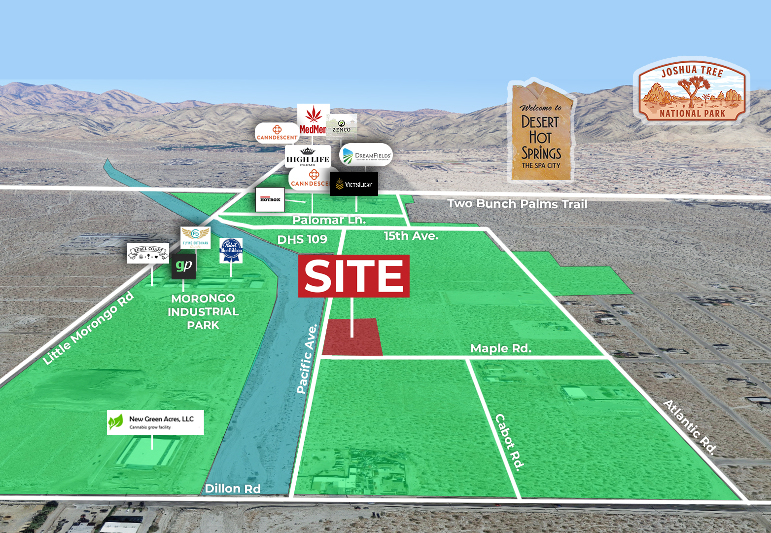 2.24 AC NEC Maple Rd & Pacific Ave, DHS Featured Web
