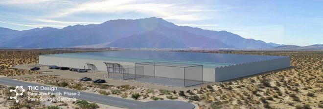 Palm Springs OKs 172,785-square-foot cannabis facility north of I-10