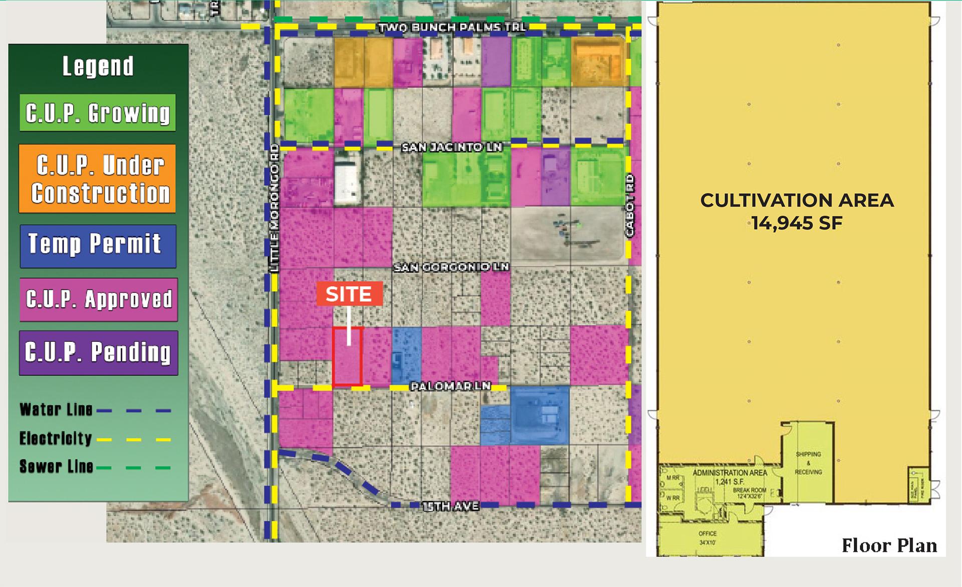 1.26 AC N Palomar Ln, DHS Zoomed Aerial Web
