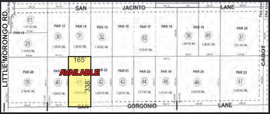 1.26 AC N San Gorgonio, DHS Site Map Web