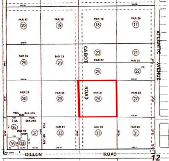 2.48 AC E Cabot Rd, DHS Plat Map Web